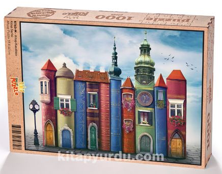 Kitap Kasabası Ahşap Puzzle 1000 Parça (KT63-M)