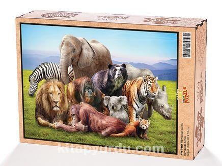Hayvanlar AlemiAhşap Puzzle 2000 Parça (HV65-MM)