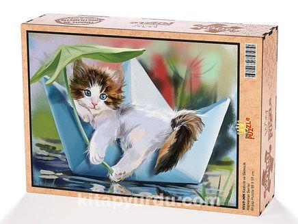 Kedicik ve Gemicik Ahşap Puzzle 2000 Parça (HV69-MM)