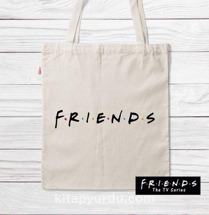 Askılı Bez Çanta - Friends - Friends (BK-FR200) Lisanslı Ürün
