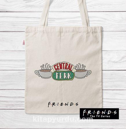 Askılı Bez Çanta - Friends - Central Perk (BK-FR192) Lisanslı Ürün