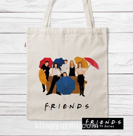 Askılı Bez Çanta - Friends - There For You (BK-FR189
