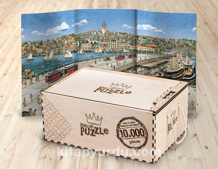 Eminönünden Galata Ahşap Puzzle 10.000 Parça (TS101-10M)