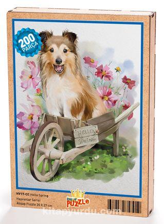 Hello Spring Ahşap Puzzle 204 Parça (HV17-CC)