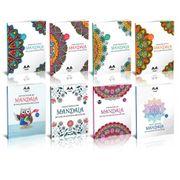 Yetişkinler İçin Mandala Boyama Seti (8 Kitap)