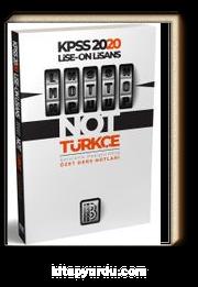 2020 KPSS Lise Önlisans Motto Türkçe Ders Notları