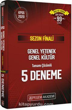 Sezon Finali Genel Yetenek Genel Kültür Tamamı Çözümlü 5 Deneme
