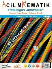AYT Acil Matematik Reaksiyon 12'li Denemeleri