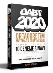 2020 ÖABT Ortaöğretim Matematik Öğretmenliği Tamamı Çözümlü 10 Fasikül Deneme