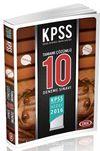 2016 KPSS Genel Yetenek - Genel Kültür Çözümlü 10 Deneme Sınavı