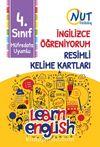 4. Sınıf İngilizce Öğreniyorum Resimli Kelime Kartları