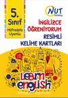 5. Sınıf İngilizce Öğreniyorum Resimli Kelime Kartları