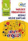7. Sınıf İngilizce Öğreniyorum Resimli Kelime Kartları