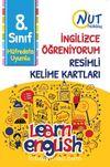 8. Sınıf İngilizce Öğreniyorum Resimli Kelime Kartları