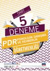 ÖABT PDR Psikolojik Danışma ve Rehberlik Öğretmenliği - Öğretmenlik Alan Bilgisi - 5 Deneme