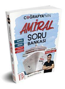 KPSS Tamamı Çözümlü Amiral Coğrafya Soru Bankası