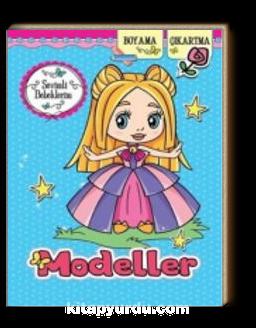 Sevimli Bebeklerim Modeller / Boyama-Çıkartma