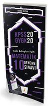 2020 KPSS Matematik 10 Deneme Sınavı Dijital Çözümlü