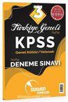 KPSS Genel Kültür Genel Yetenek Türkiye Geneli 3 Deneme Sınavı
