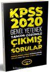 2020 KPSS Genel Yetenek 2013-2019 Konularına Göre Tamamı Çözümlü Çıkmış Sorular