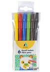Adel Keçeli Kalem 6 Renk(2220222001)