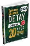 2020 KPSS Detay Coğrafya Tamamı Çözümlü 20 Deneme