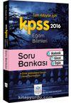 2016 KPSS Eğitim Bilimleri Soru Bankası