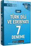 2020 KPSS ÖABT Türk Dili ve Edebiyatı Tamamı Çözümlü 7 Deneme