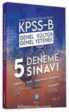2020 KPSS B Genel Yetenek Genel Kültür 5 Deneme Çözümlü