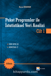 Paket Programlar ile İstatistiksel Veri Analizi Cilt 1