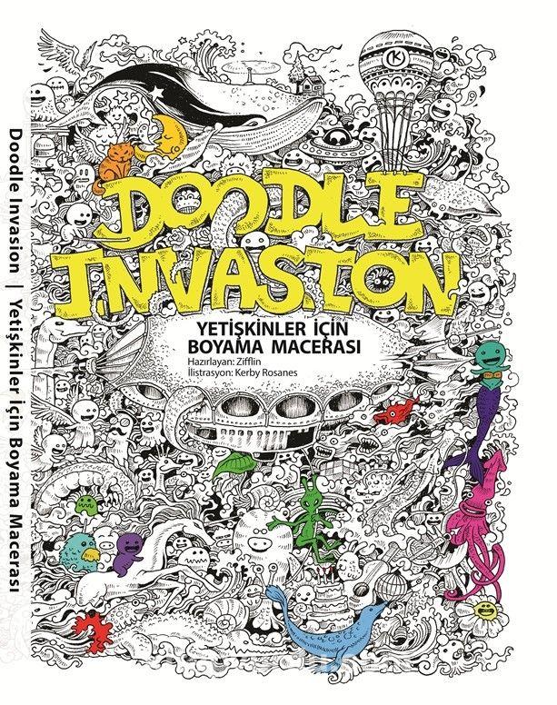 Doodle Invasion Yetişkinler Için Boyama Macerası Indir Pdf Mobi