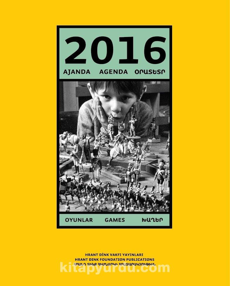 2016 Ajanda: Oyunlar -  pdf epub
