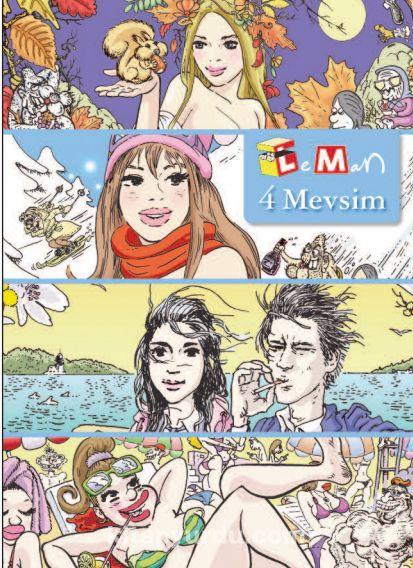 Leman 4 Mevsim - Kollektif pdf epub