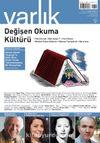 Varlık Aylık Edebiyat ve Kültür Dergisi Ağustos 2020