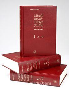 Misalli Büyük Türkçe Sözlük 3 CİLT
