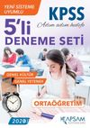 Ortaöğretim KPSS 5'li Deneme Seti