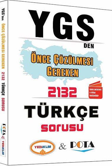 YGS'den Önce Çözülmesi Gereken 2132 Türkçe Sorusu - Kollektif pdf epub