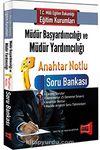2016 MEB Müdür Başyardımcılığı ve Müdür Yardımcılığı Anahtar Notlu Soru Bankası