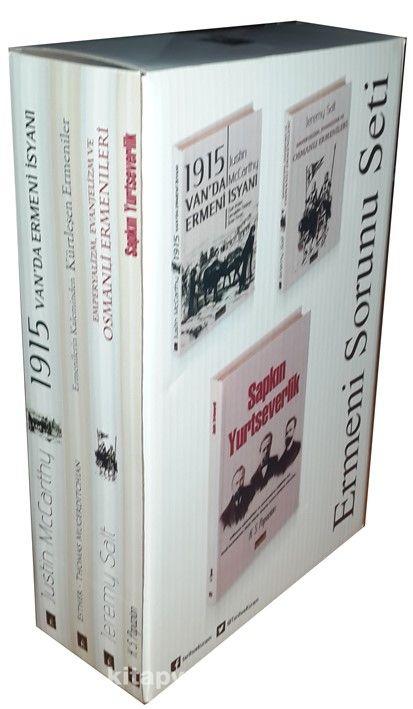 Ermeni Sorunu (4 Kitap Set-Kutulu) - Prof. Dr. Justin McCarthy pdf epub