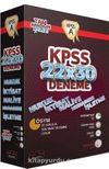2016 KPSS 22x30 Deneme (5 Kitap)