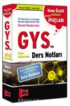 2015 GYS'nin Altın Değerinde Ders Notları