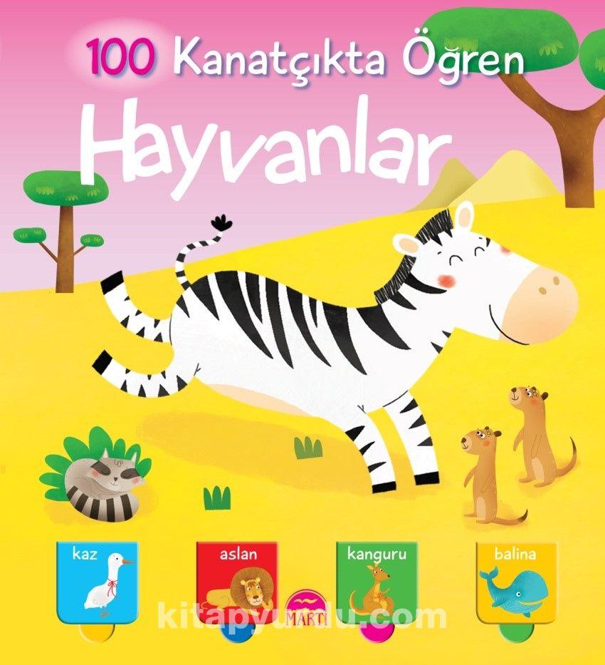 Hayvanlar / 100 Kanatçıkta Öğren - Kollektif pdf epub