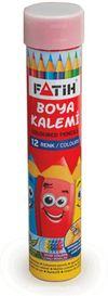 Fatih Tam Boy Tüplü Kuru Boya Kalem 12 li(FA33114KB12RTB)