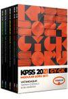 2021 KPSS Genel Yetenek Genel Kültür Tamamı Çözümlü Soru Bankası (5 Kitap)
