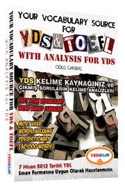Your Vocabulary Source For YDS-TOEFL with Analysis For YDS