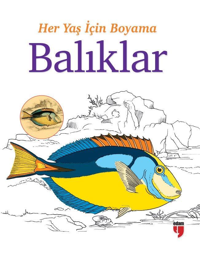 Her Yaş İçin Boyama - Balıklar -  pdf epub