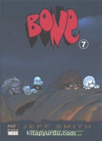 Bone 7 / Hayalet Çemberi - Zeb Wells pdf epub