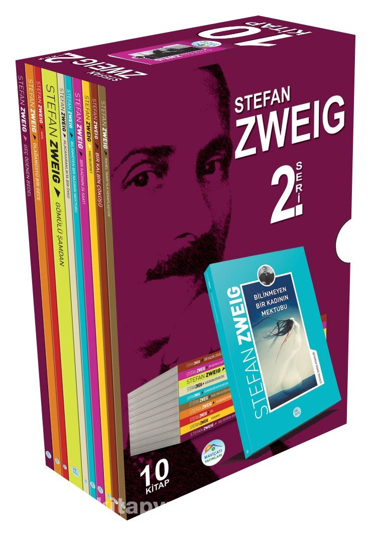 Stefan Zweig Seti 2 (10 Kitap) PDF Kitap İndir