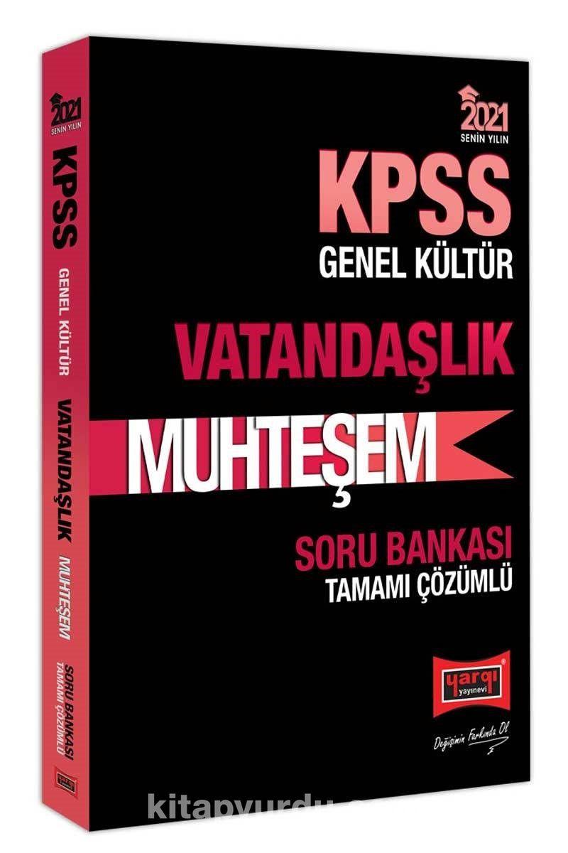 2021 KPSS Muhteşem Vatandaşlık Tamamı Çözümlü Soru Bankası PDF Kitap İndir