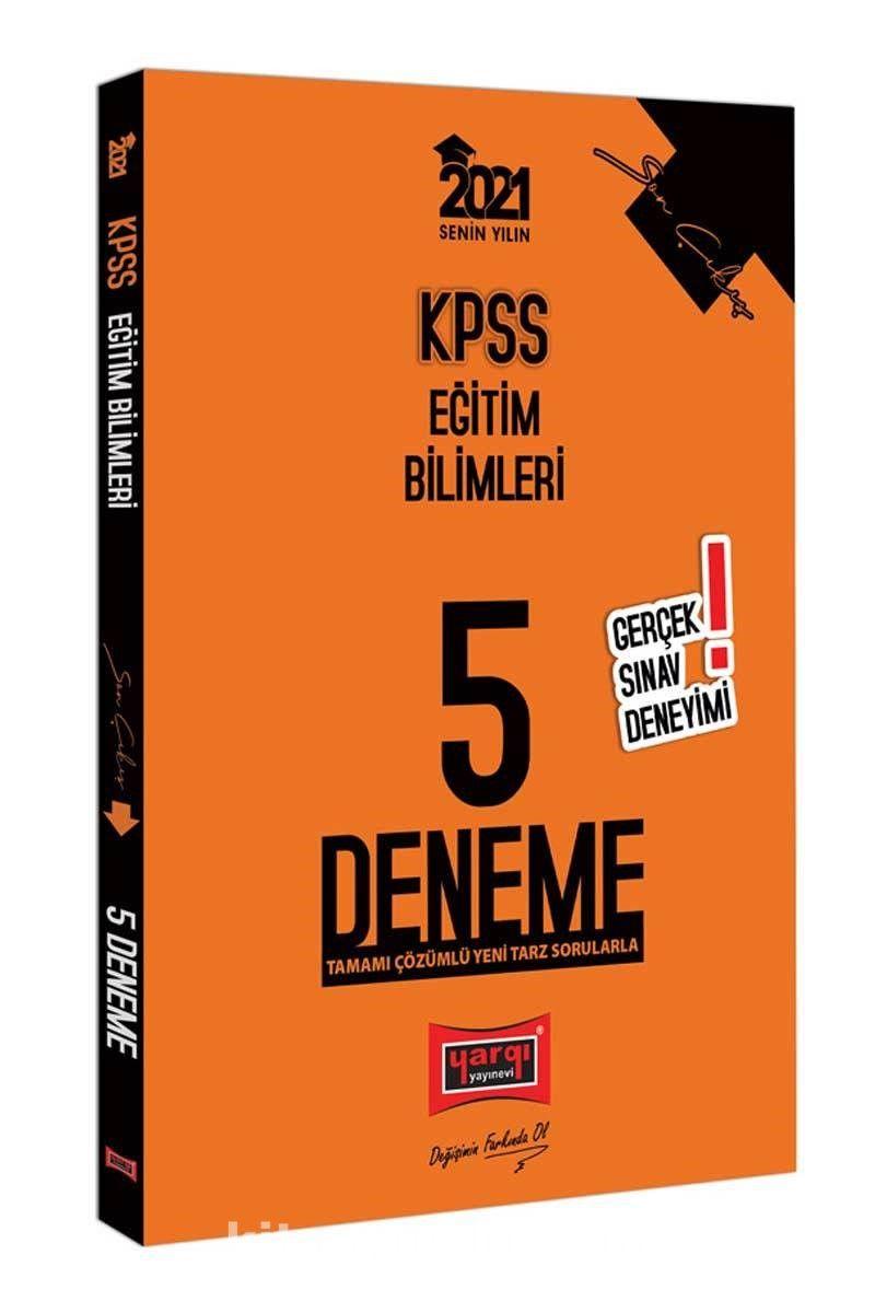 2021 KPSS Eğitim Bilimleri Son Çıkış Tamamı Çözümlü 5 Deneme PDF Kitap İndir